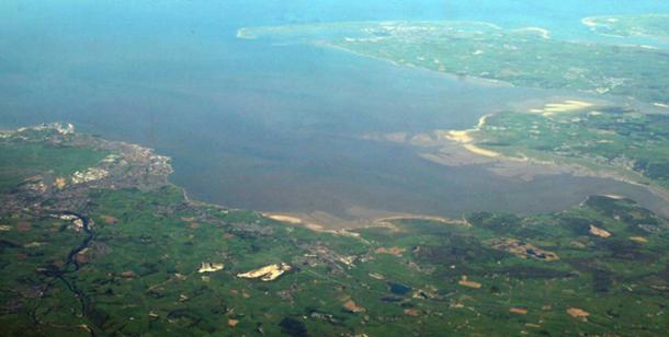 Morecambe Bay, England