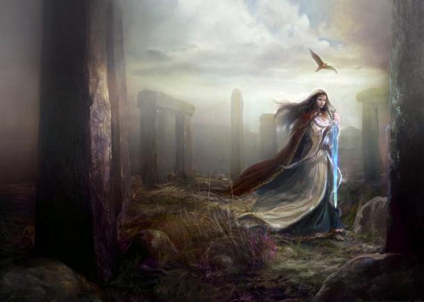 Morgan le Fay learned ancient magic on Avalon.