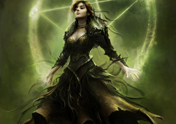 Morgana Le Fay, Anikó Salamon's art for the video game King Arthur II.
