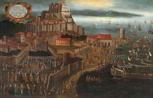 Expulsion of the Moriscos at the port of Dénia, by painter Vincente Mostre. (Vicente Mostre / Public domain)