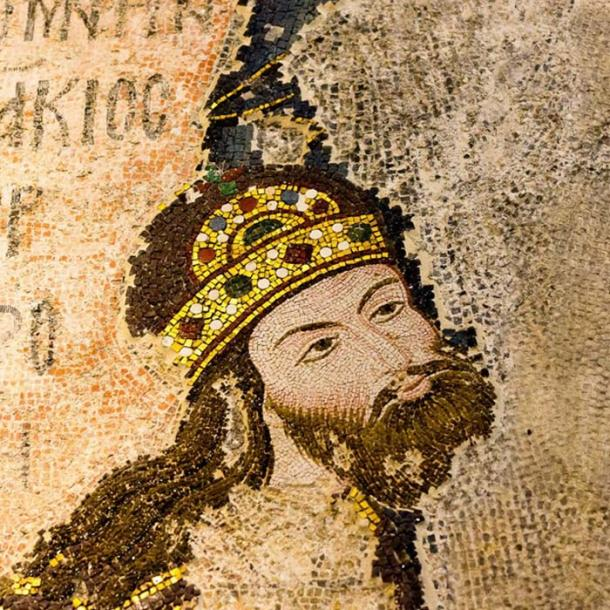 Mosaic of the Byzantine Emperor Isaac I Komnenos. (Stig Alenas /Adobe Stock)