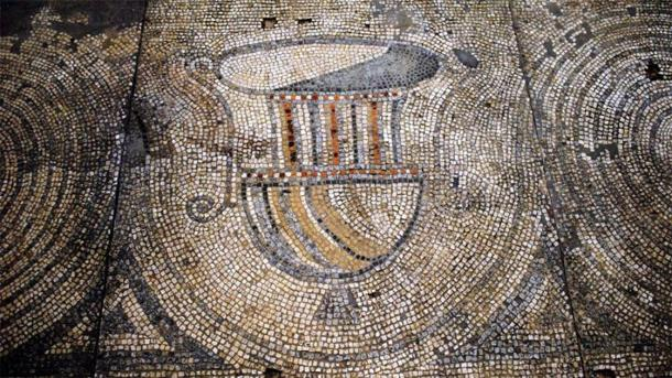 Mosaics found at Kings Weston Villa (Bristol News)