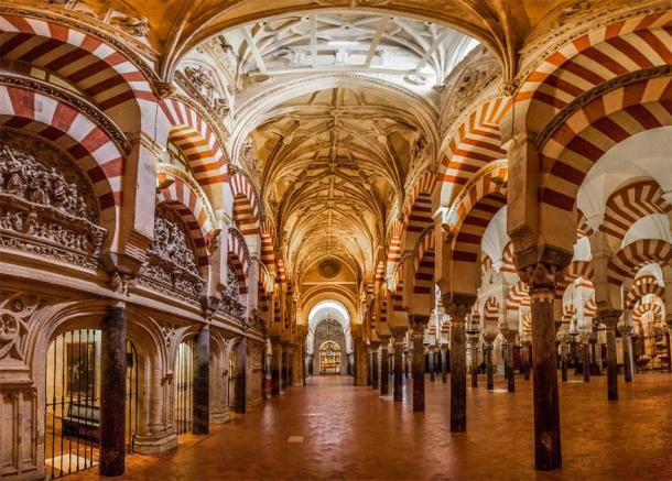 Mosque–Cathedral of Córdoba, in Andalusia. (akulamatiau /Adobe Stock)