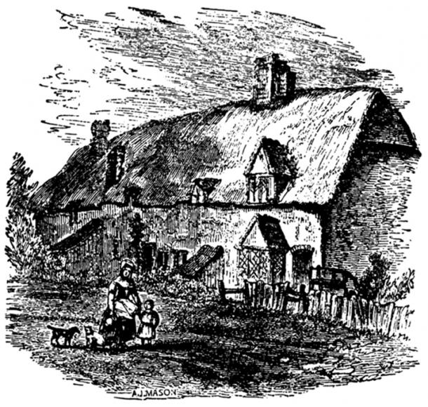 Mother Shipton's house.