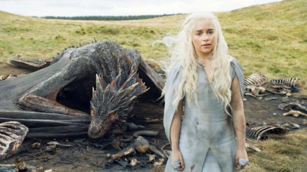 Mother of dragons, liberator of slaves: Daenerys Targaryen. (HBO)