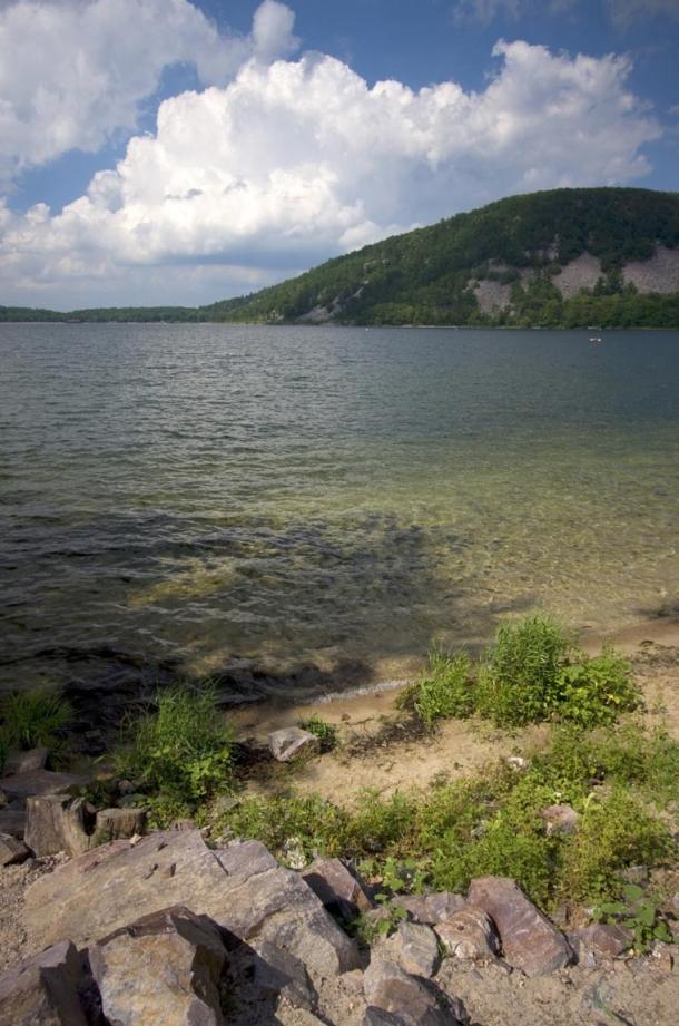 Mound at Devil's Lake, Baraboo area, Wisconsin