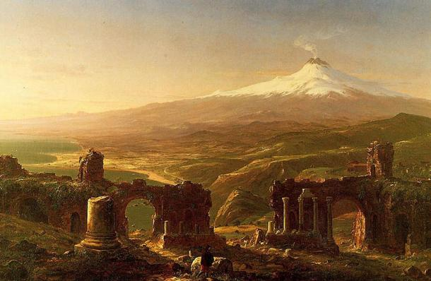 Mount Aetna (1843) by Thomas Cole.