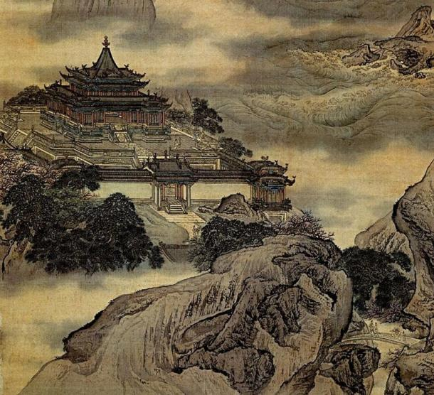 A miniature version of Mount Penglai, the legendary home of the Eight Immortals, was recreated in many classical Chinese garden.