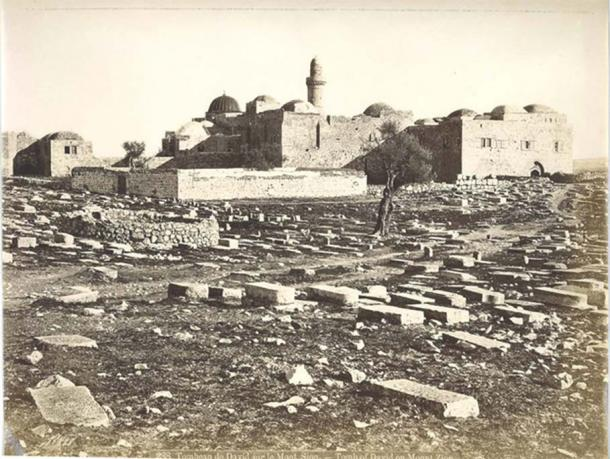 Mt. Zion - the location of Nabi Da'ud mosque, King David's proposed tomb, the Cenacle, and an old Franciscan church.