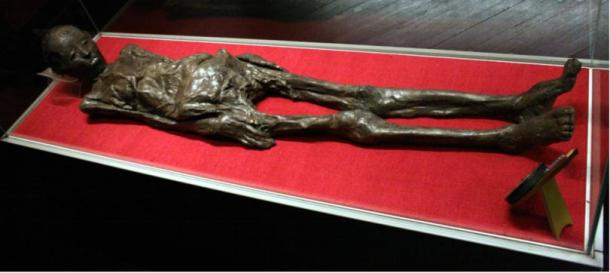 Mummy at the Archaeological Museum in Zagreb, Croatia