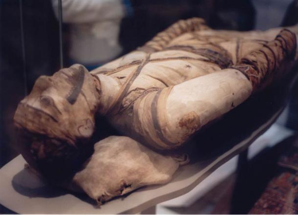 Mummy in the British Museum