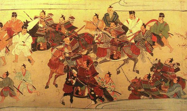 Muromachi period of the Chrysanthemum Throne. (Ismoon / Public Domain)