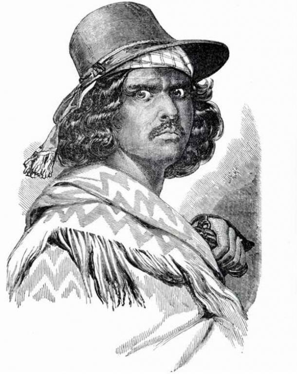 Artist's portrayal of Murrieta