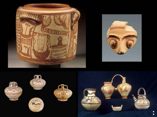 Finds from the Mycenaean palace of Kydonia