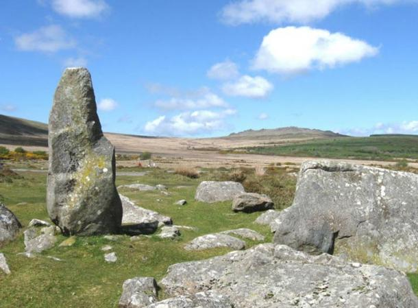 Mynydd Preseli site where bluestone are believed to process spiritual and healing properties