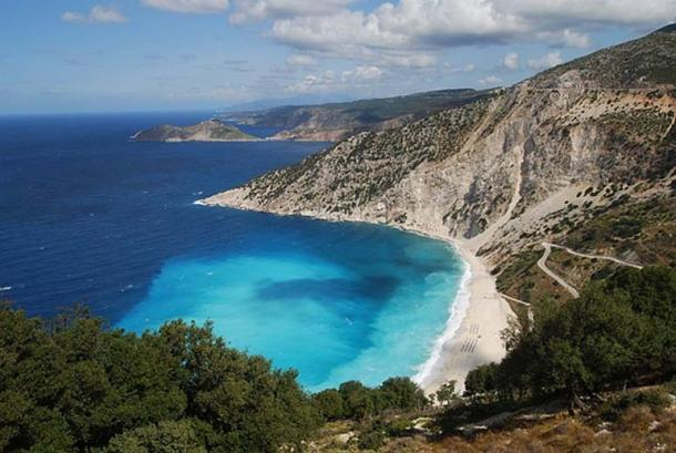 Myrtos Beach, Kefalonia, Greece. (Matt Sims/CC BY 2.0)