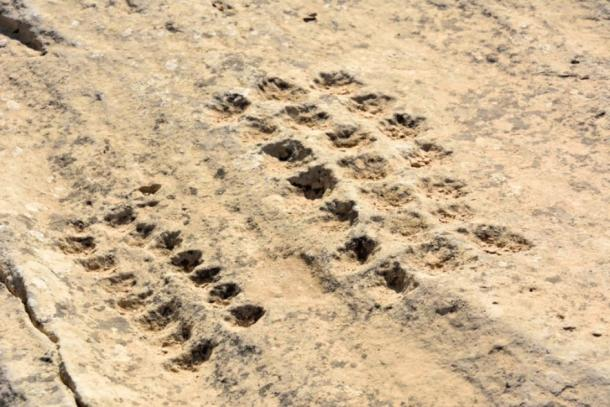 Mysterious holes of Al Jassasiya, purpose unknown (Alizada Studios / Adobe Stock)