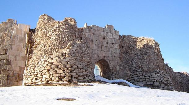 "The Mystical Ruins at Takht-e-Soleyman, ""Solomon's Gate"". 2005."