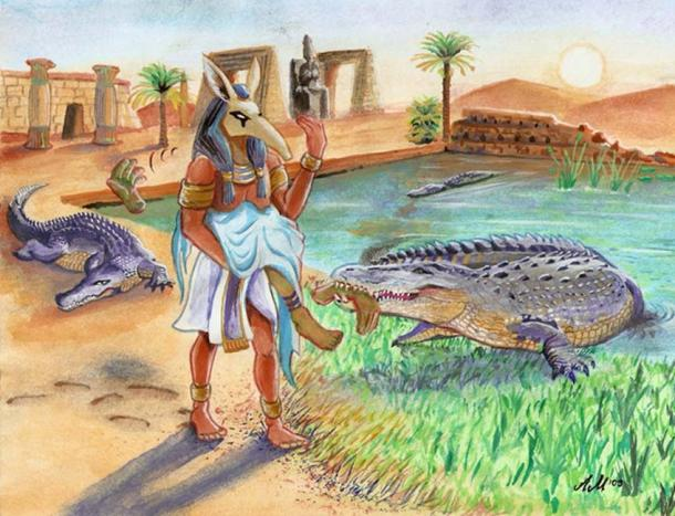 Myth of Osiris and Isis – Seth's Rage. (Zanten / Deviantart)