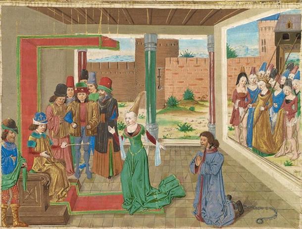 'Bagoas pleads on behalf of Nabarzanes'