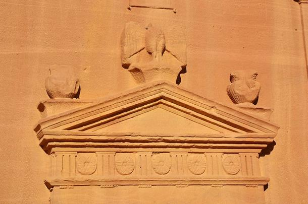 The Nabataeans were skilled craftsmen who carved their monuments out of solid rock