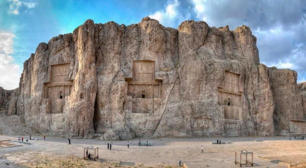 Naqsh-e Rostam, Fars province, Iran.