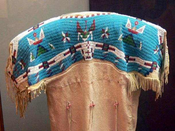 Native American beaded shirt
