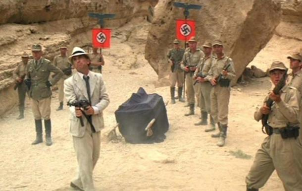 Nazis and the ark from Indiana Jones' Raiders of the Lost Ark