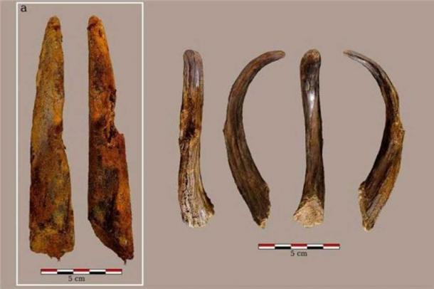 Neanderthal wooden tools. Credit: Joseba Rios