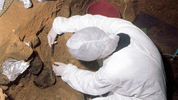 Neanderthal DNA was retrieved from sediments in El Sidrón cave, in northern Spain. (Max Planck Society)