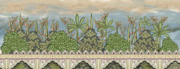 The life of Neb-un-Nisa was that of a princess in a gilded cage, or garden in her case. From life in a harem to her later imprisonment, she remained locked away. (noor / Adobe Stock)