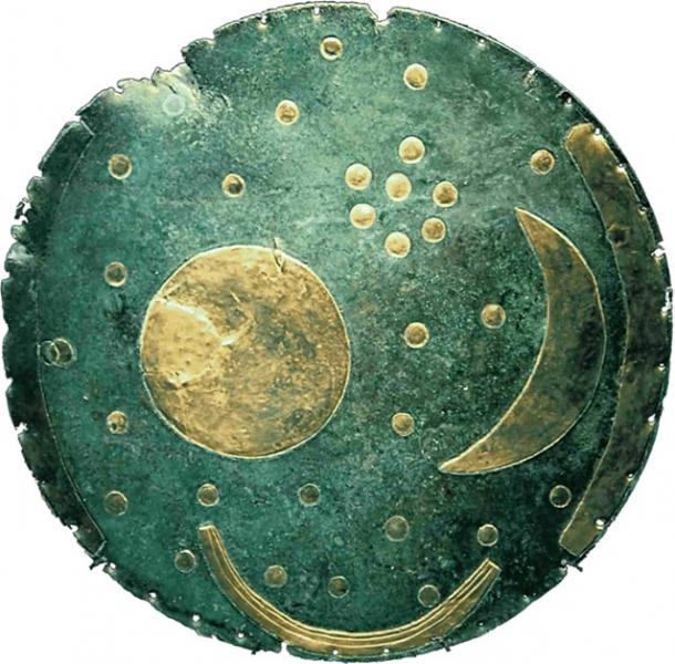 The Nebra Sky Disk. (Dbachmann, Theway / CC BY-SA 4.0)