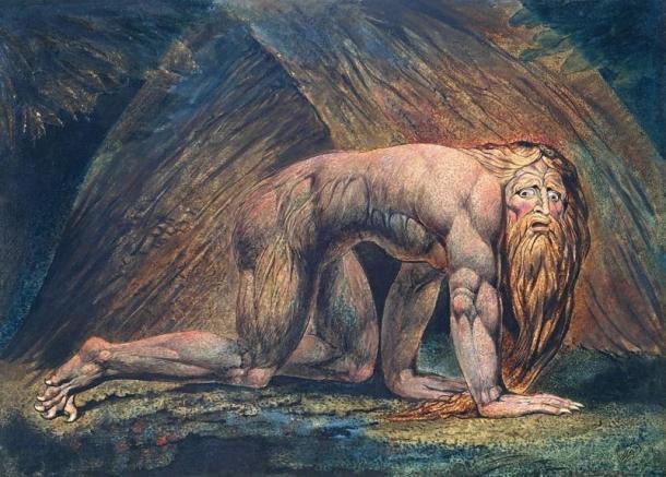 Nebuchadnezzar (1795/1805), William Blake