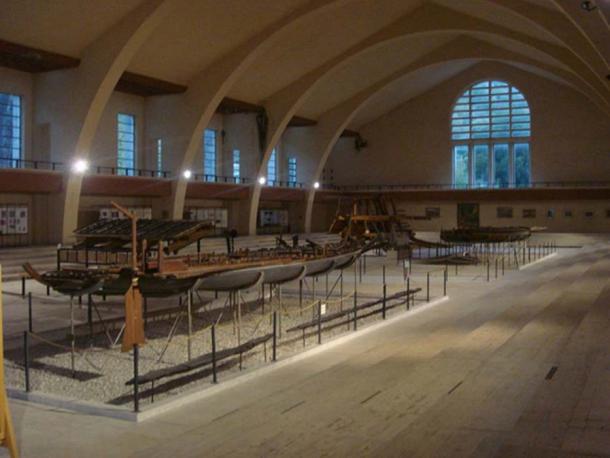 Nemi ships museum.