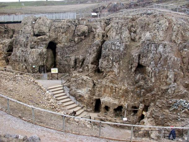 The entrance to the Neolithic Copper Mine complex on the Great Orme