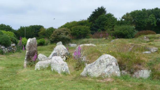 The Neolithic Cornish village of Carn Euny.