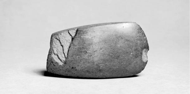 Neolithic ax from about 7,000 years ago in Italy.