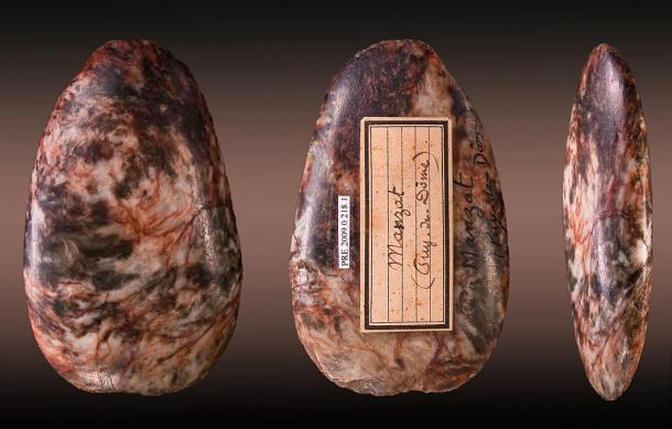 A Neolithic axe from France