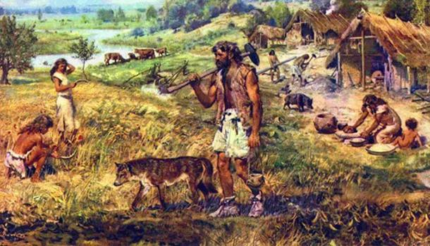 Neolithic farmers. (Out of the Woods)