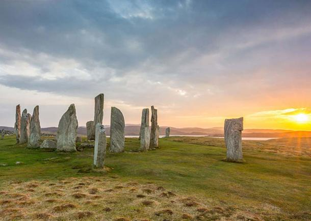 The Neolithic stones of Callanish.