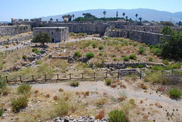 Nerantzia Castle, Kos.