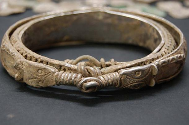 Nested bracelet from the Silverdale Hoard. Image by Ian Richardson. (CC BY-SA 2.0)