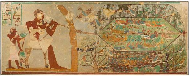 Netting Birds, Tomb of Khnumhotep II.