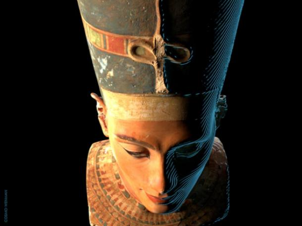 The Neues Museum is concerned with the release of the 3D scans of the bust of Nefertiti. (CosmoWenman / CC BY-NC-SA 4.0)