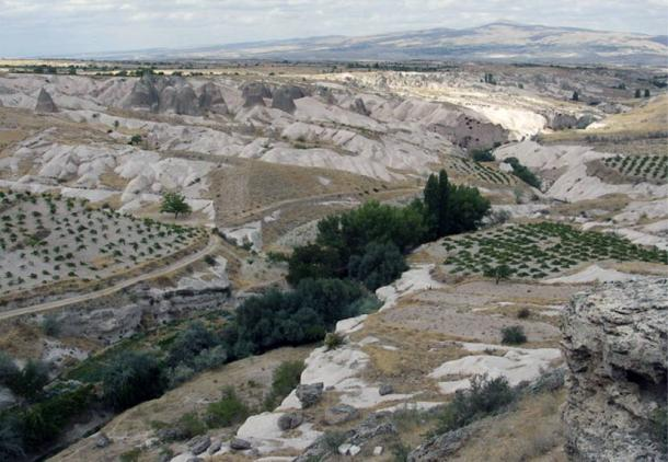 Nevşehir province in Cappadocia, Turkey