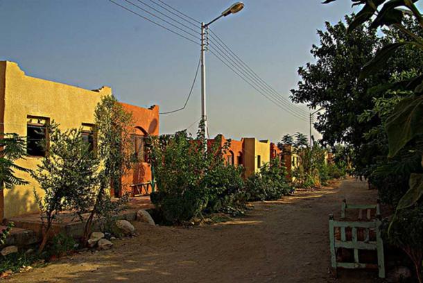 New Qurna, near Luxor, in Egypt.