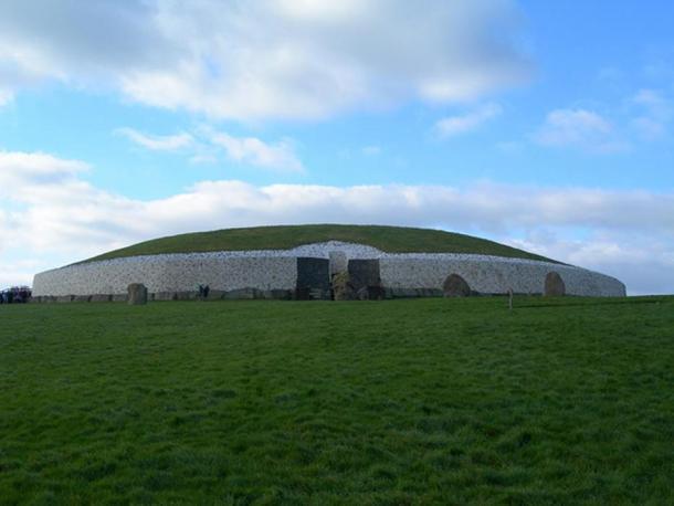 Newgrange, County Meath, Ireland.