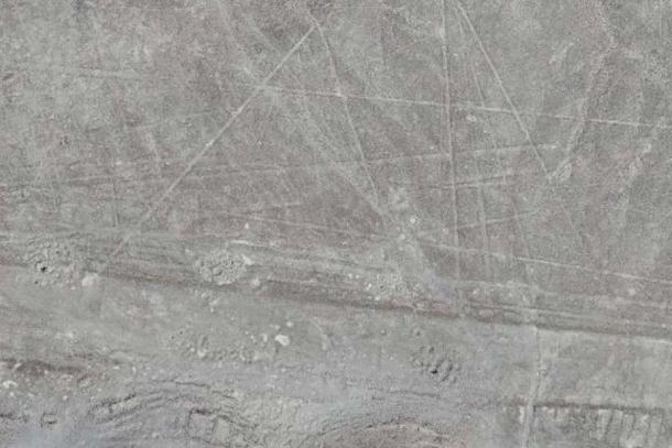 Newly discovered Nazca lines captured by a drone. (Luis Jaime Castillo, Palpa Nazca Project) Archaeologists believe these lines were made at different times and with different purposes.
