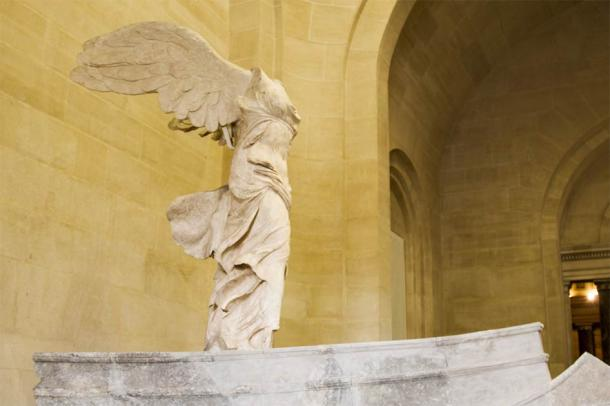 Nike of Samothrace, goddess of victory, on display in the Louvre museum Paris (fiore26 / Adobe Stock)