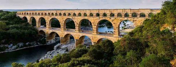 The famous and visually spectacular Nimes Pont du Gard aqueduct. (Benh LIEU SONG (Flickr) / CC BY-SA 3.0)